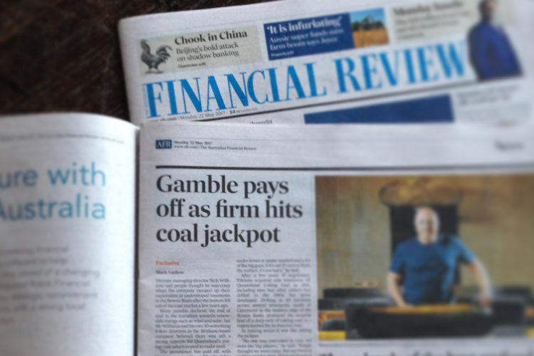 Coal is back - Australian Financial Review
